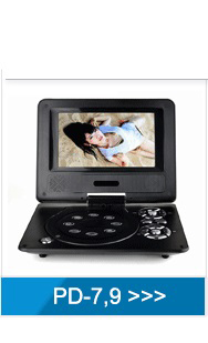 D12 12 Inch Dvb Led Dvbt2 Tv Digital Portable Tv Monitor