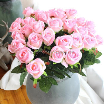 Artificial Rose Silk Craft Flowers Real Touch Flowers For Wedding