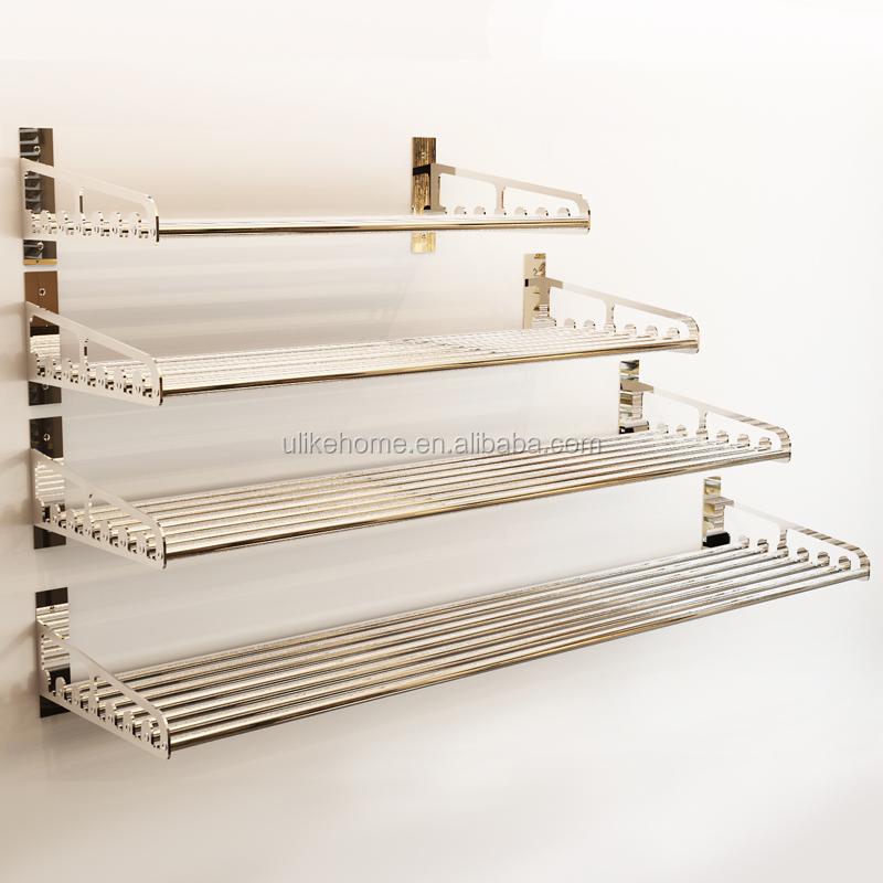 De acero inoxidable horno de la cocina estantes de almacenamiento estante para microondas - Estante microondas ...