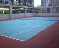 epdm rubber material,tennis court epdm rubber granules. basketball court price, rubber and plastic FN-87406