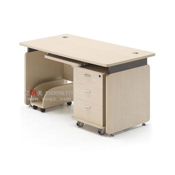 Customized Mdf Top Office Desk Design Modern Desk School Teacher