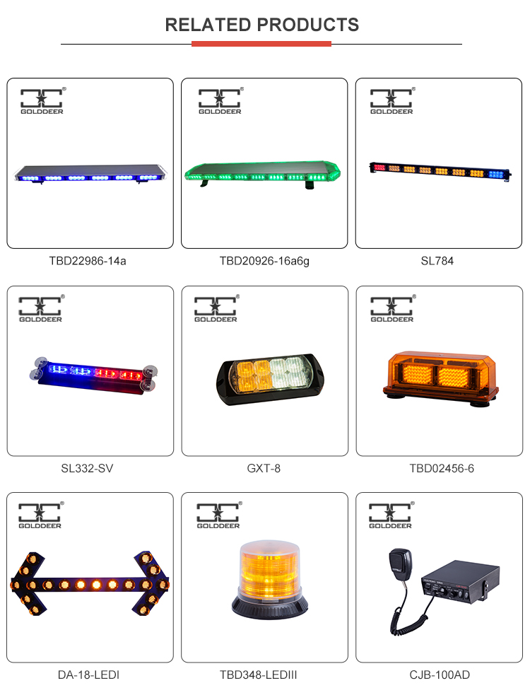 Car Flashing Light Bar HID Xenon Strobe Lightbar