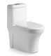 Cheap siphonic one-piece toilet