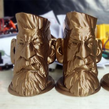 Metal Color Pla 3d Printer Filament Gold Silver Bronze