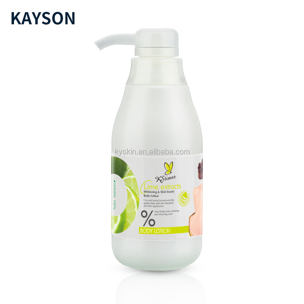 KStimes Korea Citroen Extract Glutathion Zwarte Huid snelle Whitening body Lotion