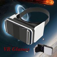 2016 High quality OEM customized logo virtual reality 3d glasses portable VR BOX