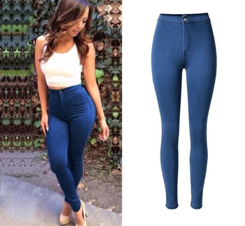 nueva apariencia diseño de variedad Tener cuidado de W0846 Jeans Para Mujeres De Cintura Alta Vaqueros Pitillo Denim Pantalones  Vaqueros De Las Mujeres Plus Tamaño Femme Pantalones - Buy Pantalones De ...