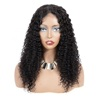 Dubai wholesale tuneful virgin brazilian hair lace wig human hair kinky curly lace 13x4