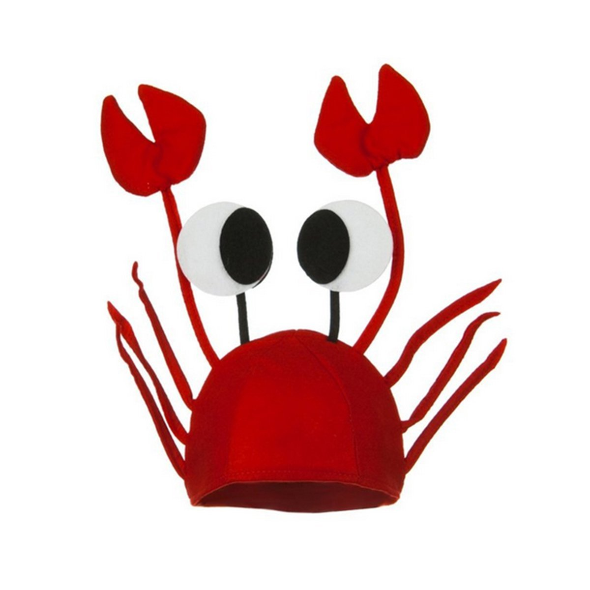 a5576139e77 Get Quotations · Men s Women s Novelty Hat 3D Lobster Crawfish Crab Seafood  Hat With Claws ...