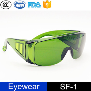 CE Laser 1064nm+532nm designed Safety Goggles