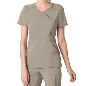 New Style Medical Scrubs Set Women Hospital Uniforms With V Neck
