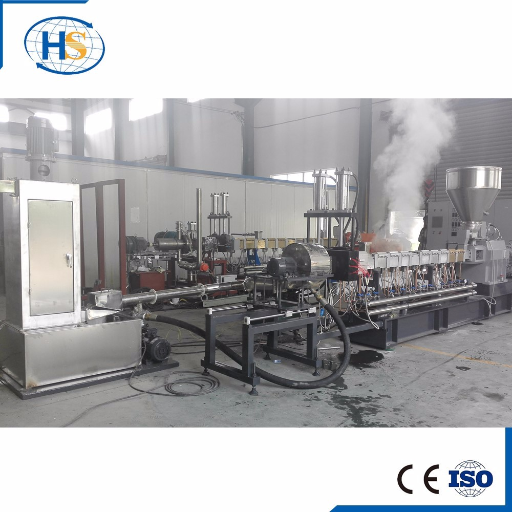 Manufacturing Process Carbon Black Plastic Granules Making Machine Of Lab/Extruder Single Screw Granulator for PP