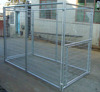 high quality galvanized chain link fence in dog cage