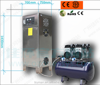 Built-in oxygen generator ozone generator plant for water treament plant and dringking water plant
