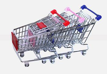 office trolley cart. Desktop Office Supplies Gift Mini Shopping Trolley Cart For Kids