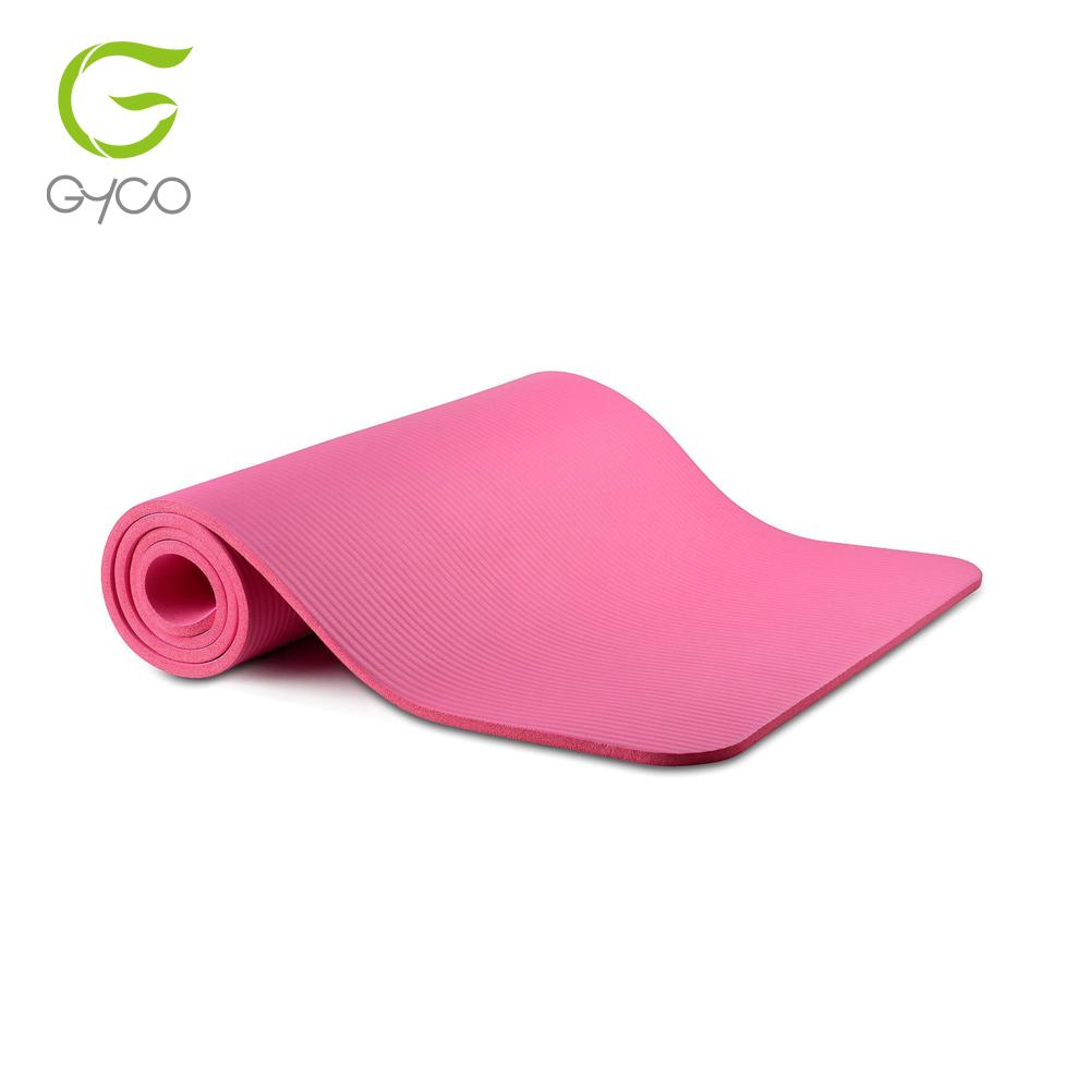 Самый популярный Экологичный коврик для йоги nbr резиновые коврики для йоги