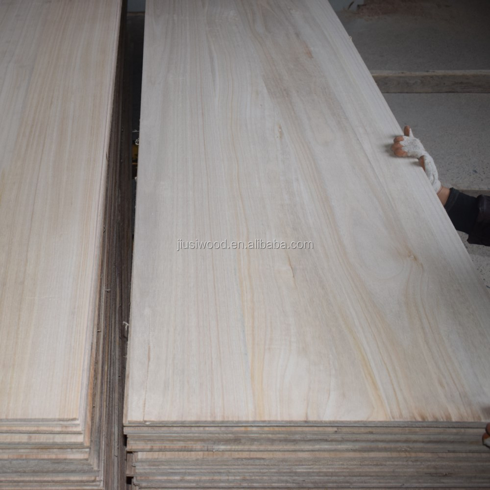 Custom paulownia solid wood composite board