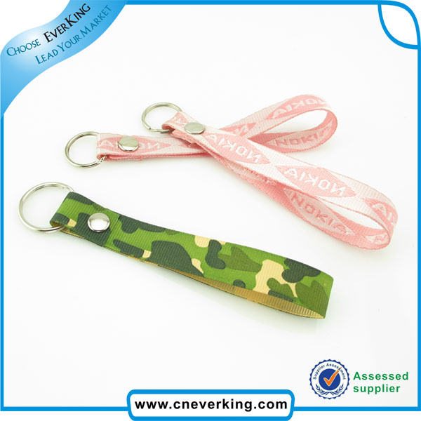 fashion design short key lanyard for convenient