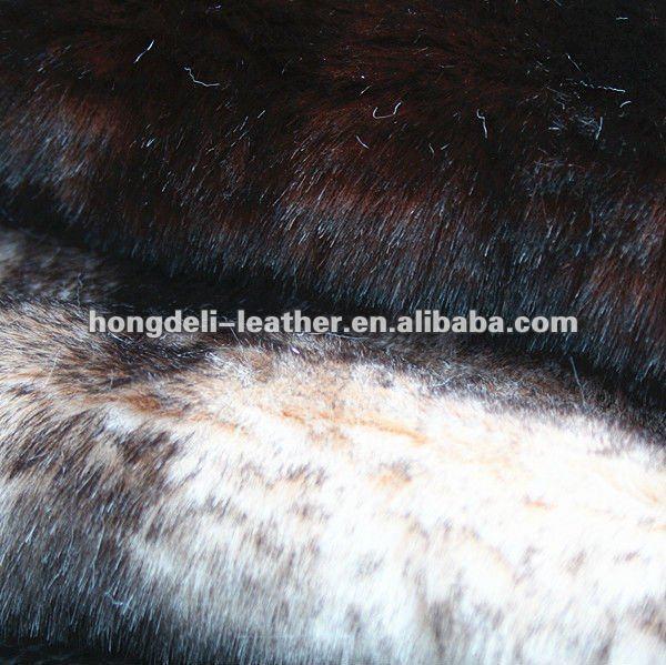 Faux Fur Long Hair Plush Imitation Skin