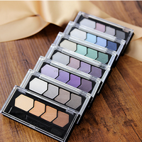 OEM/ODM Makeup protecting easily colored and remove magic 4 colors eyeshadow