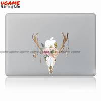 Mysterious animal head sticker decal for macbook pro