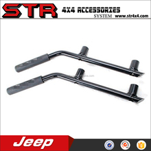 Stable handle for jeep wrangler of jk steel rear grab handle