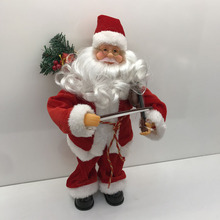 Battery Operated <span class=keywords><strong>Regalo</strong></span> <span class=keywords><strong>Di</strong></span> <span class=keywords><strong>Natale</strong></span> 16' 'Play Violino Musicale In Movimento Babbo <span class=keywords><strong>natale</strong></span> per I Regali Della Bambola Della Peluche