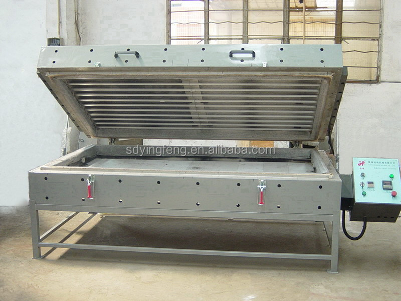 JFK-1120 China industrial wind glass bending furnace with CE