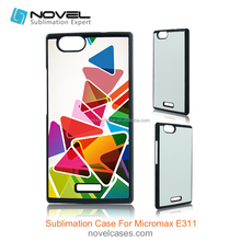 Popular India Model Sublimation Mobile Phone Case for Micromax E311