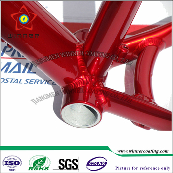 Red Color Transpa Effect Powder Coating State And Spray Lication Method Car Paint Protection