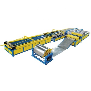 High performance HVAC square aluminum tube making machine