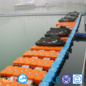 versatile HDPE hot sale polyethylene best quality modular jet ski float dock pontoon floats