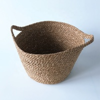 woven baby laundry basket with handle decorative woven blanket basket