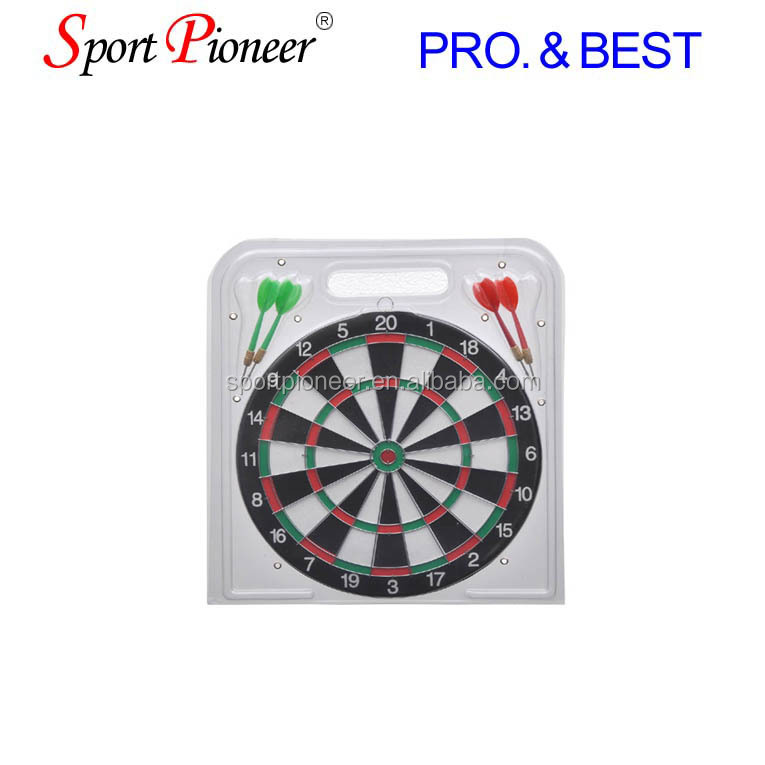 "12""Dart Board Game Double Side Dart Board"
