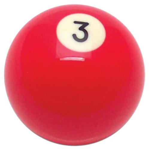 American Shifter 96054 Blue Stripe 10 Ball Billiard Pool Shift Knob