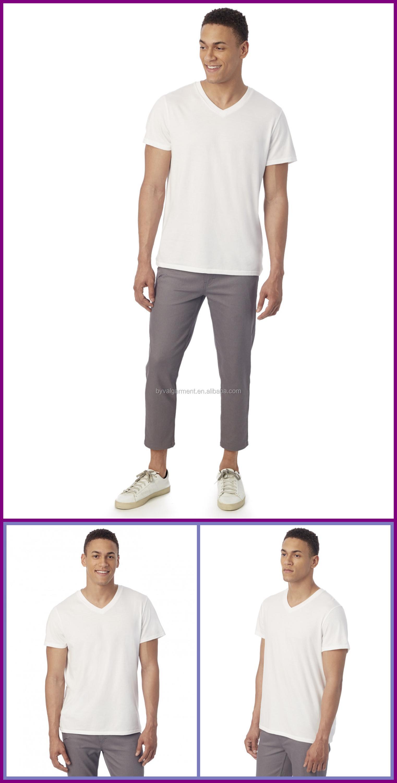 T shirt white blank - 100 Cotton Mens T Shirt White Blank T Shirt Wholesale In China Garment