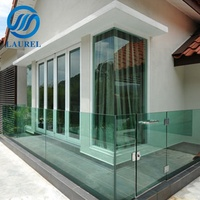 Balcony clear tempered glass 12mm toughened glass for tempered glass fence panels