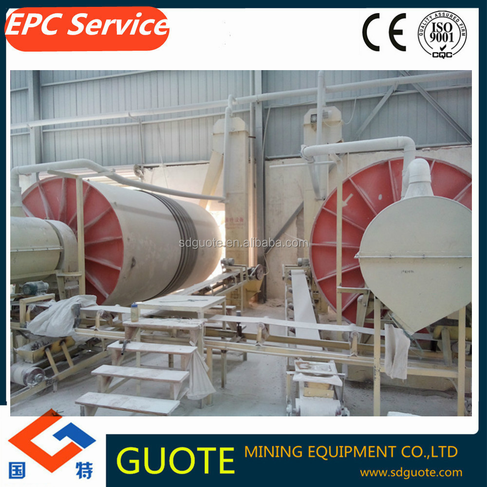 Ball Mill Classifying Production Line / Quartz sand production line for potash Feldspar Albite