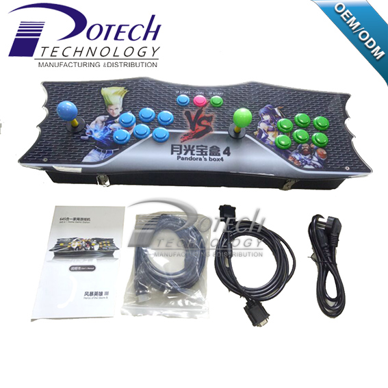 New 2 Players Pandora Box 4 Tv Hdmi Arcade Video Game Console ...