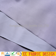 silver coated blackout fabric, silicone fabric for curtain
