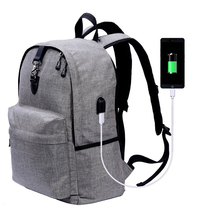 Wholesale snowflake polyester great schools travel business laptop anti theft backpack usb port for bag