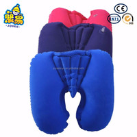Travelling inflatable car neck pillow travel