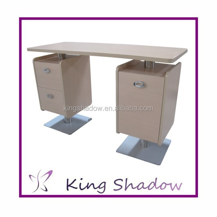 2015 Best Sale Nail Table Wood Beauty Salon Nail Tables Manicure ...