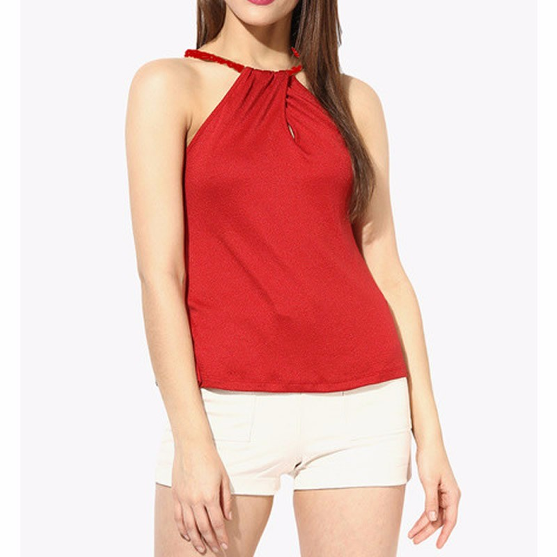 Hot Sale Sexy sleeveless women top, sleeveless top Blouse&Tops For Women