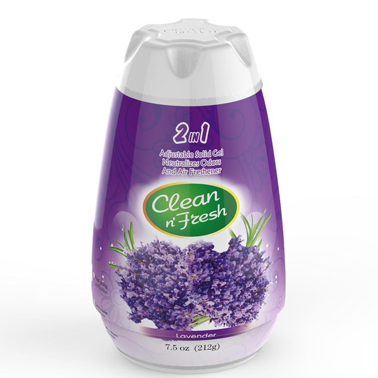 Lavender scents solid air freshener