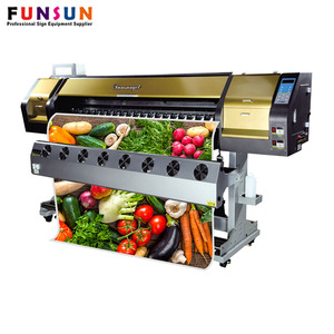 Funsunjet FS-1802G Digital Printing Desktop Eco Solvent Printer With Cheaper Price