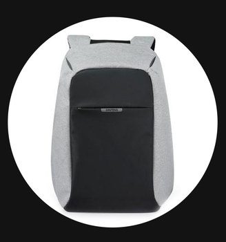 Wholesale Bobby Antitheft Notebook Backpack Hidden Zipper Lock, Shockproof Smart Laptop Backpack Bag with Hard Padde Back Pannel