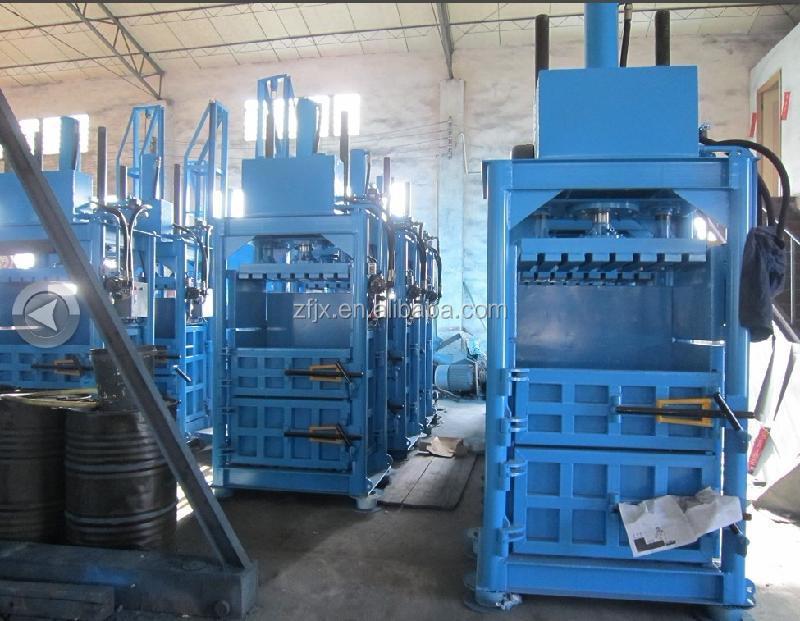Straw Bale Press Machine Hay Compress Hydraulic Baler Waste Paper ...