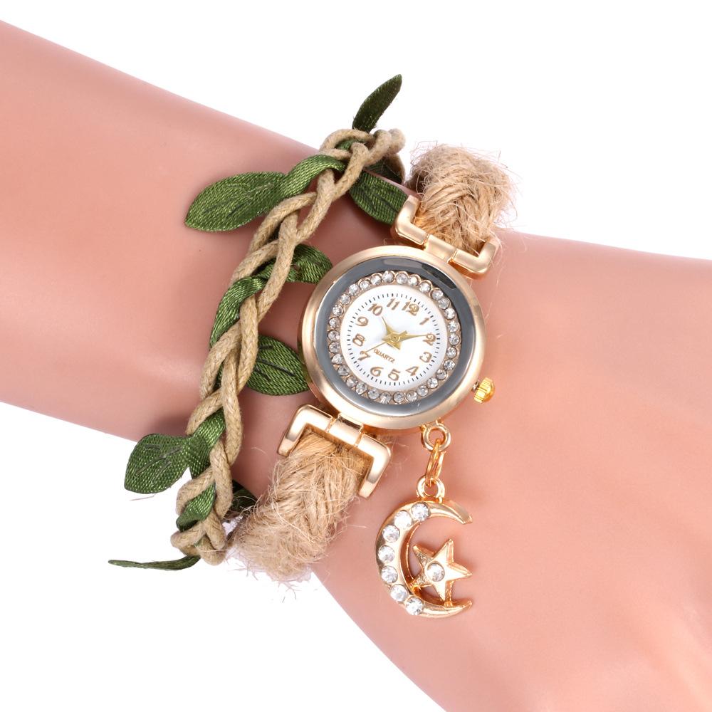 792e942e925c Venta al por mayor reloj tejido-Compre online los mejores reloj ...