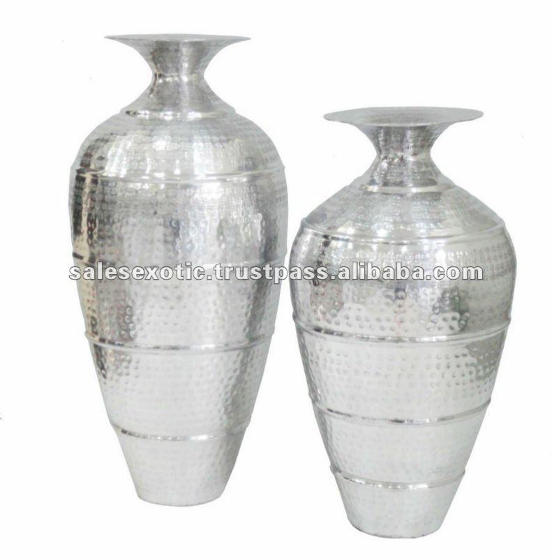 Silver Flower Vase Buy Silver Flower Vasesilver Polished Vase